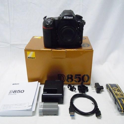 カメラ買取実績紹介「NIKON(ニコン)D850 ボディ」