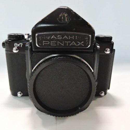 カメラ買取実績紹介「Pentax ペンタックス 6×7 後期型 アイベルファインダー フィルムカメラ」