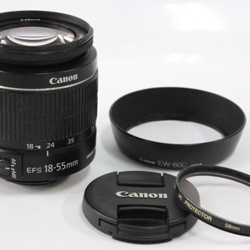 カメラ買取実績紹介「Canon キャノン EF-S 18-55mm F3.5-5.6 レンズ」