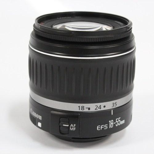カメラ買取実績紹介「CANON キャノン EF-S 18-55mm F3.5-5.6 II USM レンズ」