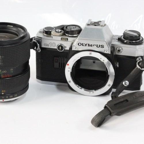 カメラ買取実績紹介「Olympus オリンパス OM10 ボディ シルバー + TEFNON 35-80」