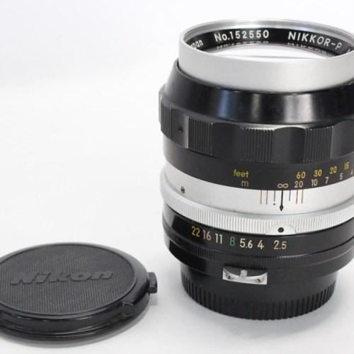 カメラ買取実績紹介「Nikon ニコン 非Ai NIKKOR-P F2.5 105mm」