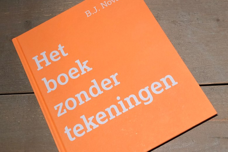 Boek zonder tekeningen