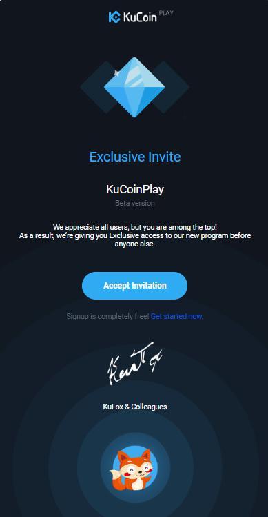 kucoin free invite