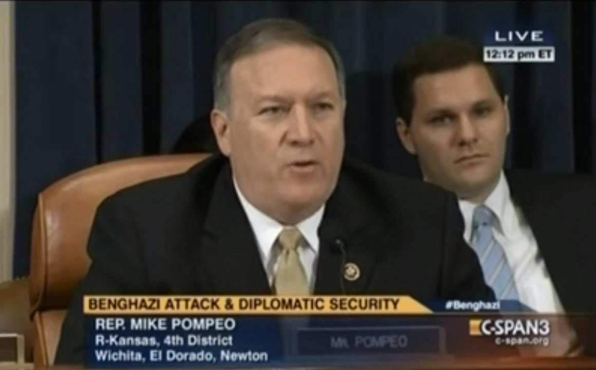 US Congressmen Mike Pompeo Says CENTCOM Senior Leaders Manipulated Intelligence, Issues Official Report