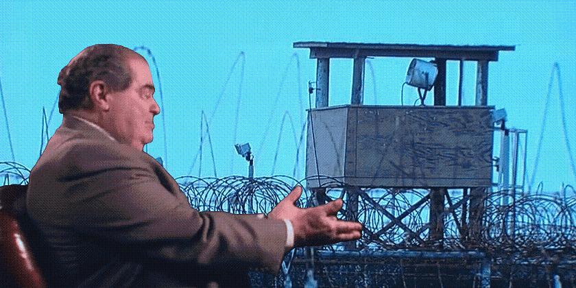 Supreme Court Guantanamo Bay Cases, Habeas Corpus and Antonin Scalia