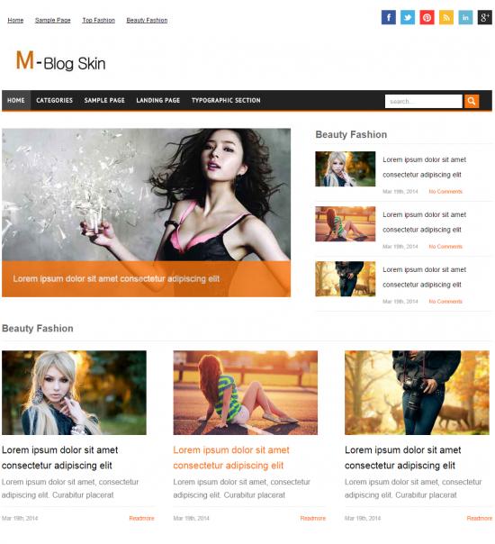 Mblog Skin-blogfruit