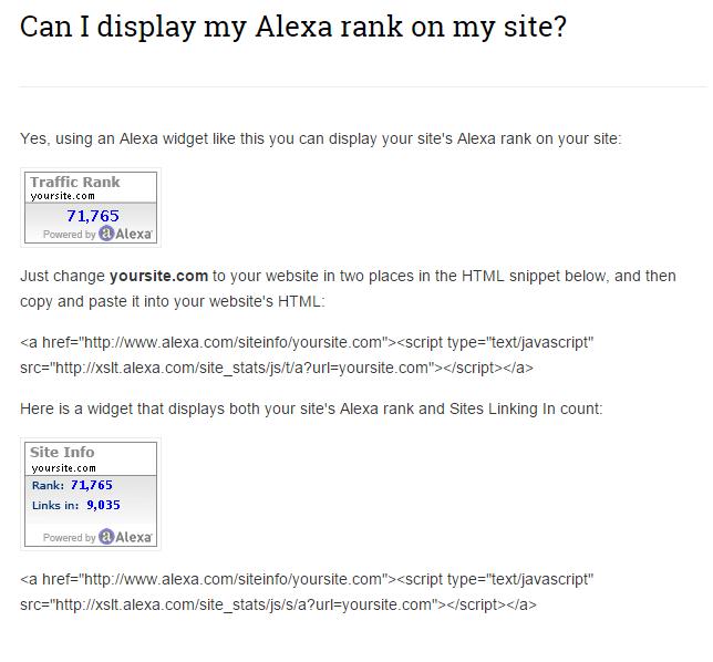 Alexa Shortcode
