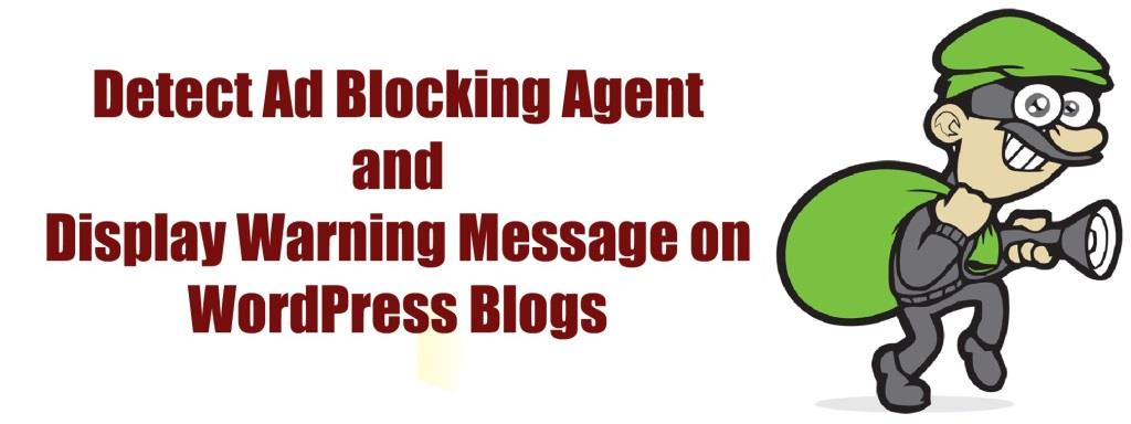 Detect AdBlock Users and Display Warning Massage on WordPress