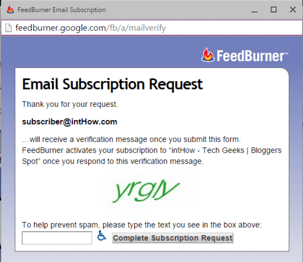 Solved - The Feed does not have Subscriptions by Email Enabled