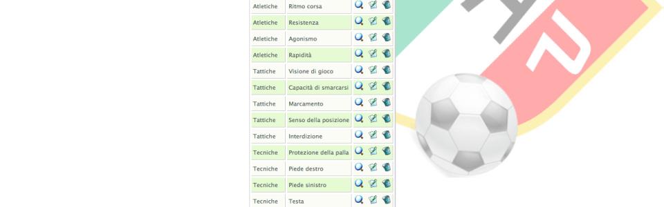 WebLogiX CMS for GIX calcio