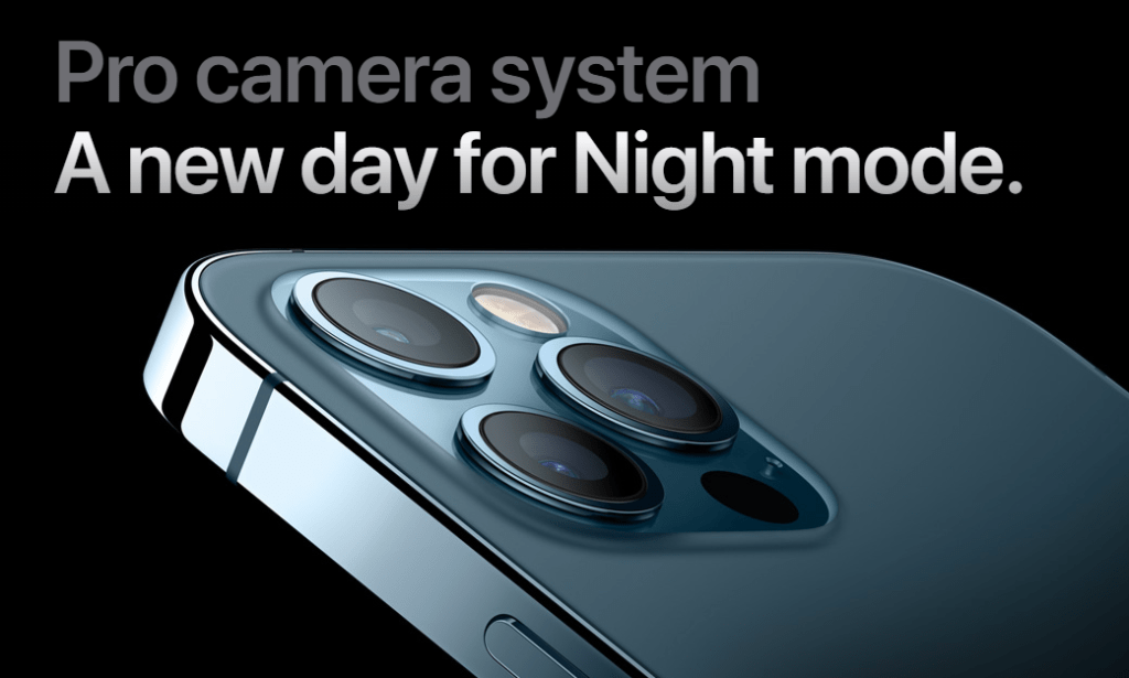 Apple iPhone 12 Pro Cameras