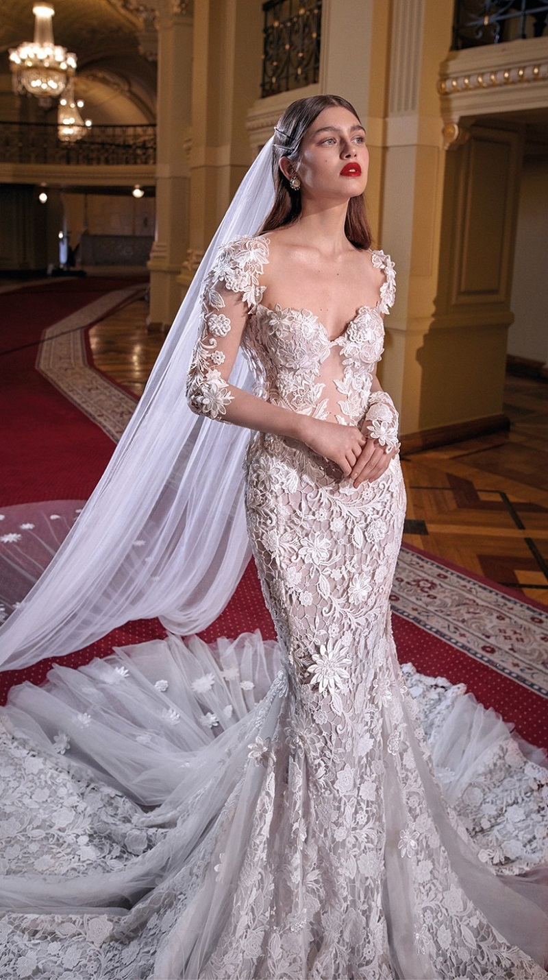 Lace wedding dresses for different styles - Web Magazine Today