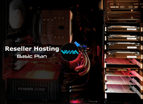 WM Host reseller hosting basic plan