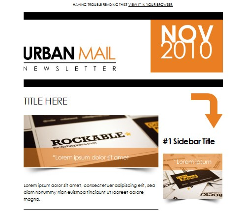 22 Creative & Professional Email Newsletter Designs
