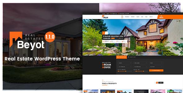 BEYOT – WordPress Real Estate Theme