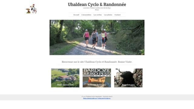 Création de site uhaldeancyclo à Bardos (64)