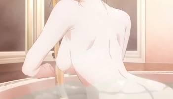 Asuna Yuuki nue dans une parodie de Sword Art Online hentai