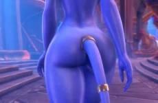 Yrel de World of Warcraft hentai marche toute nue