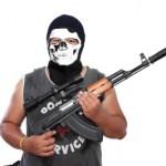 въоръжен мъж