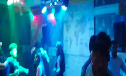 छग dance party पर Police की रेड