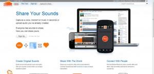 Soundcloud Audio Netzwerk