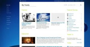 Feedly - Übersicht der Beiträge
