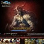 Runes of Magic im Browser - Ladebildschirm