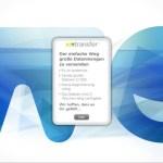 Wetransfer - Dateien mit bis zu 2 GB versenden