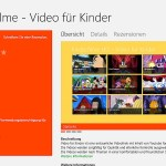 Windows Kinderfilme App