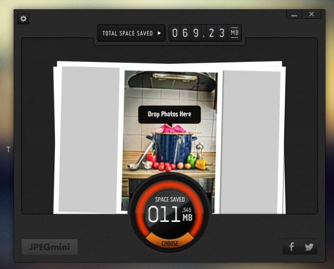 JPEGmini - Bilddatei nach Reduzierung