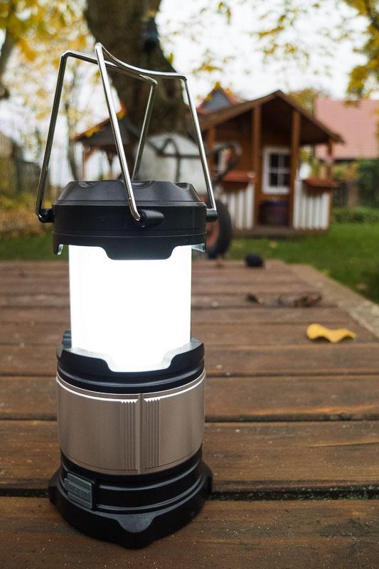 Aukey HiHILL LED Campinglampe