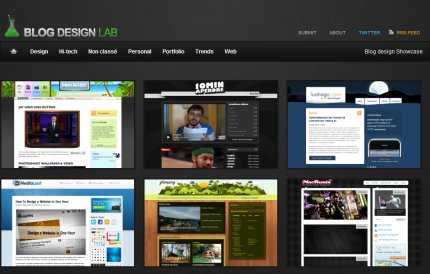 blogdesignlab homepage