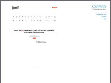 cssfaves homepage