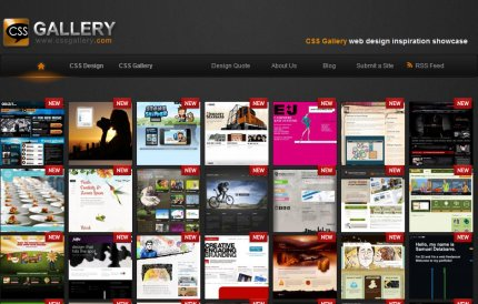 cssgallery homepage