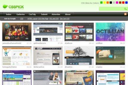 csspick homepage