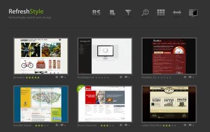 refreshstyle homepage