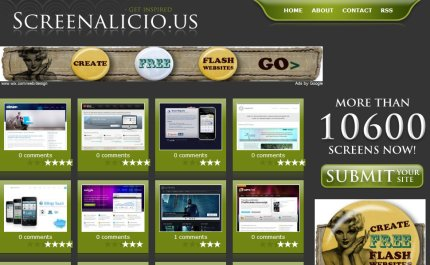 screenalicious homepage