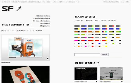 strangefruits homepage