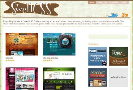 swellcss homepage