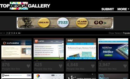 topdesigngallery homepage