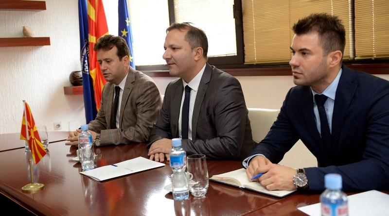 Средба на министерот Спасовски со амбасадорот на Кувајт