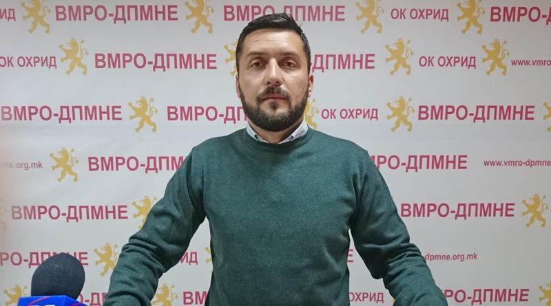 Божиновски: Стојаноски без ниту еден проект со Ќе отчетот го потврди своето недомаќинско и неодговорно работење
