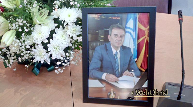 Телеграми со сочувство по повод прераната смрт на градоначалникот на Охрид, Јован Стојаноски