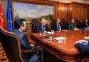 Средба на премиерот Заев со експертот од ЕУ, Прибе