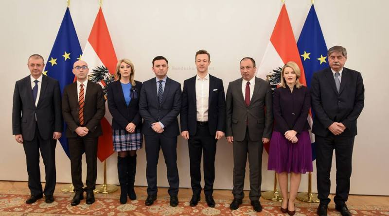 Османи: Балканот интегриран во ЕУ е гарант за стабилна и безбедна Европа