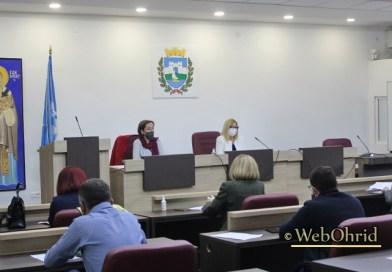 Се одржа шеесет и втората седница на Советот на општина Охрид
