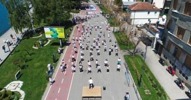 Градоначалникот Георгиески на одбележување на Светскиот ден на физичката активност