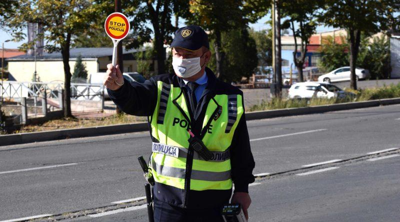 121 сообраќаен прекршок во Скопје, 64 за брзо возење