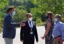 Американската амбасадорка Брнз во посета на Јавната установа Национален парк Галичица